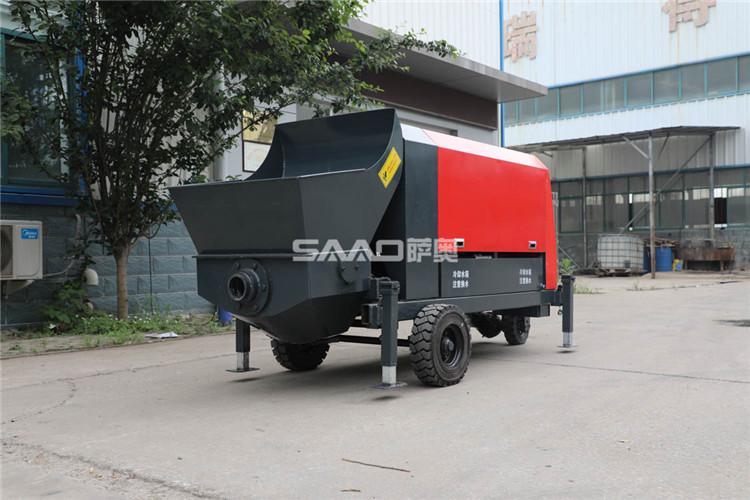 小型混凝土泵车的选择方法,了解这些很有必要