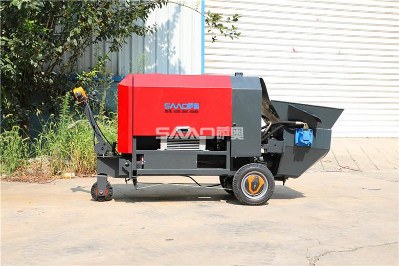 小型混凝土泵分配阀与蓄能器,你都了解吗?